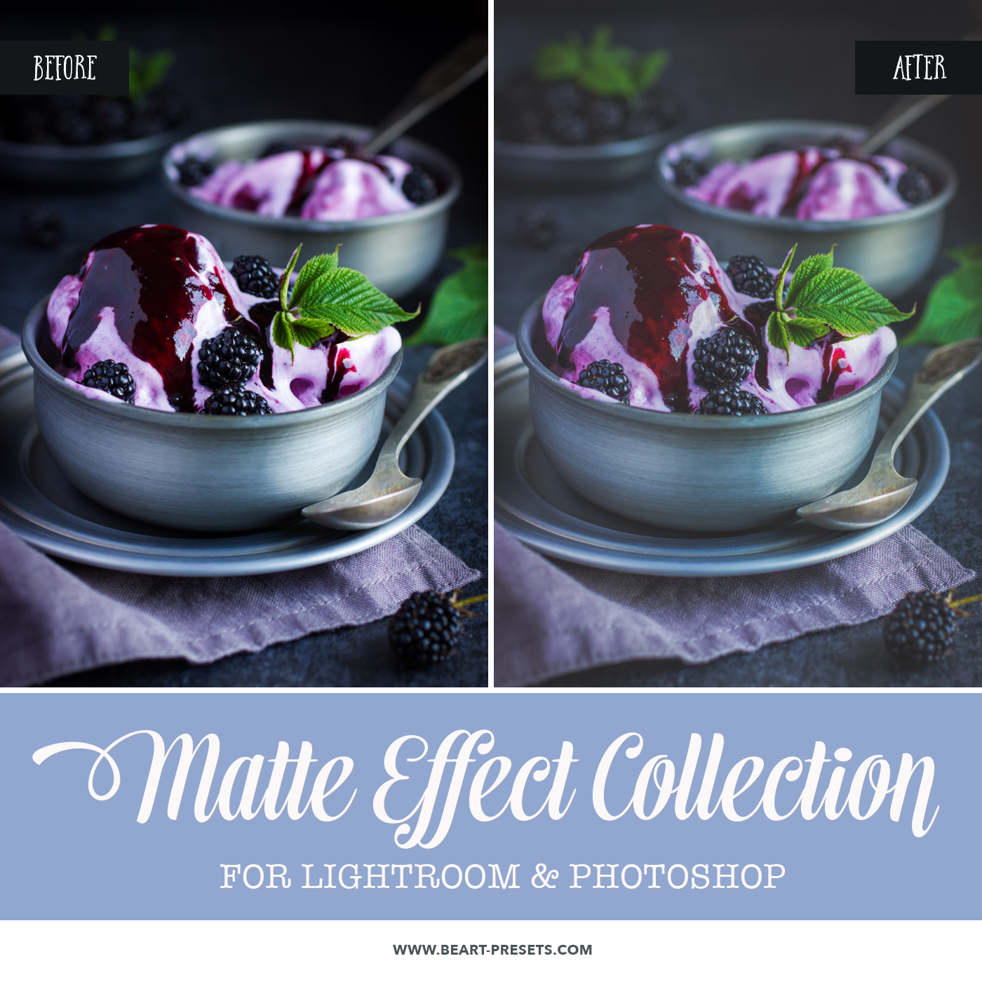 Beautiful Matte Effect Photoshop actions