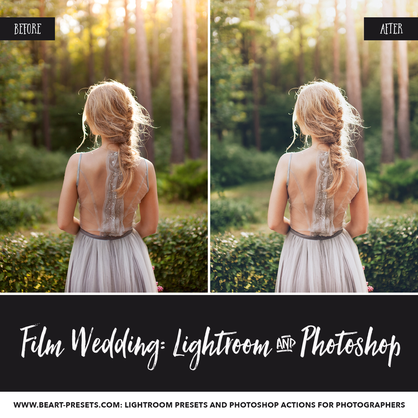Film Lightroom presets for wedding photographers
