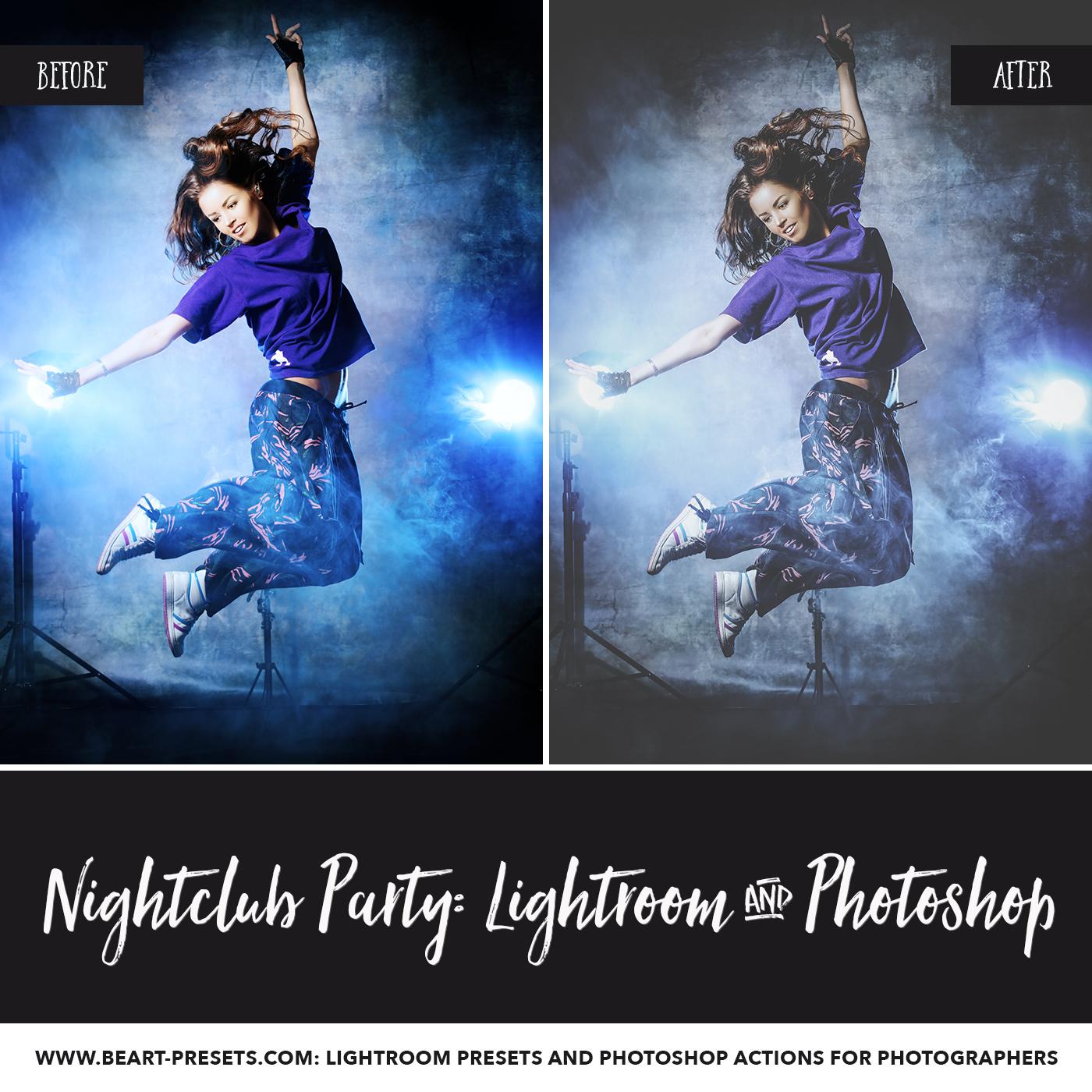 Nightclub Lightroom presets