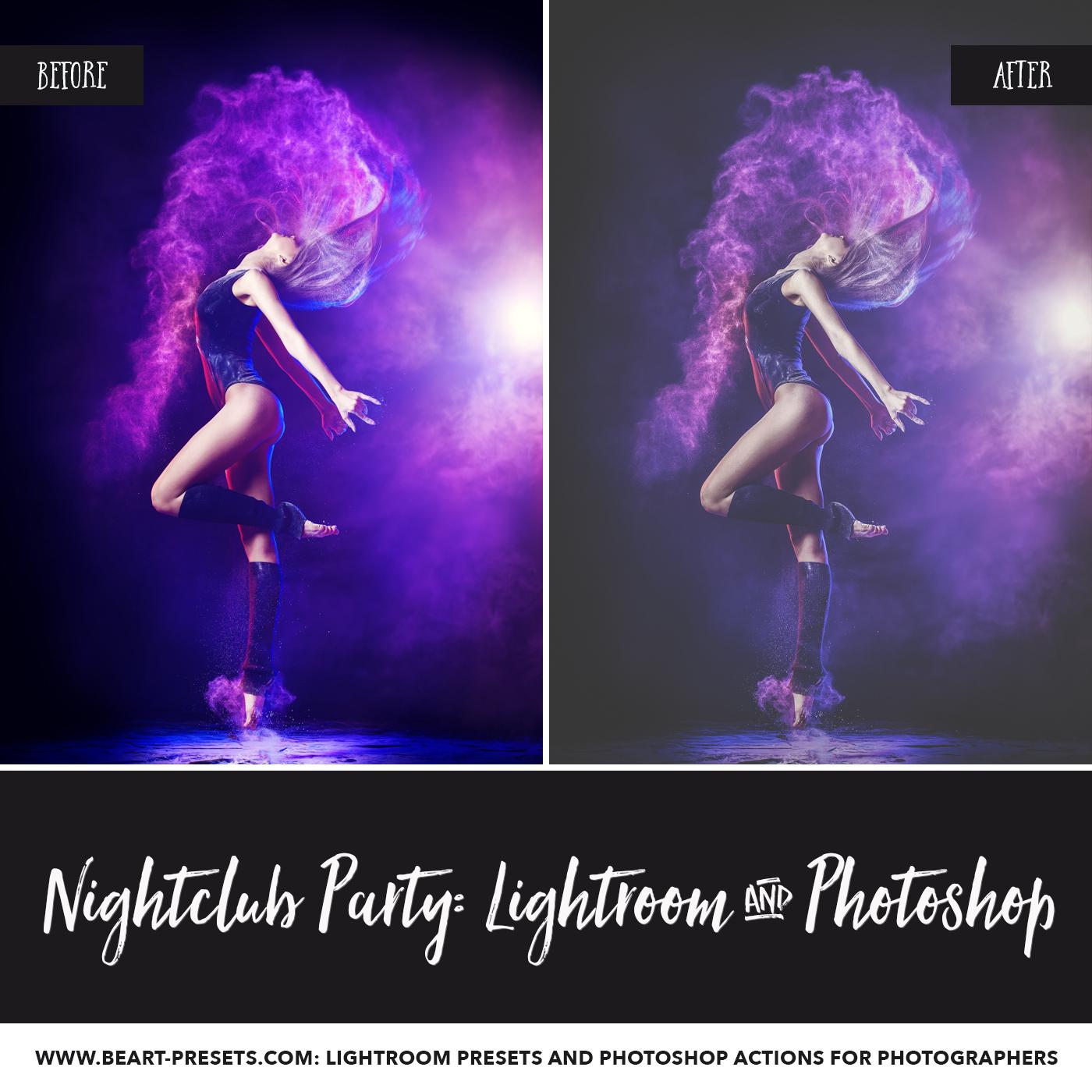 Dance Party Lightroom presets
