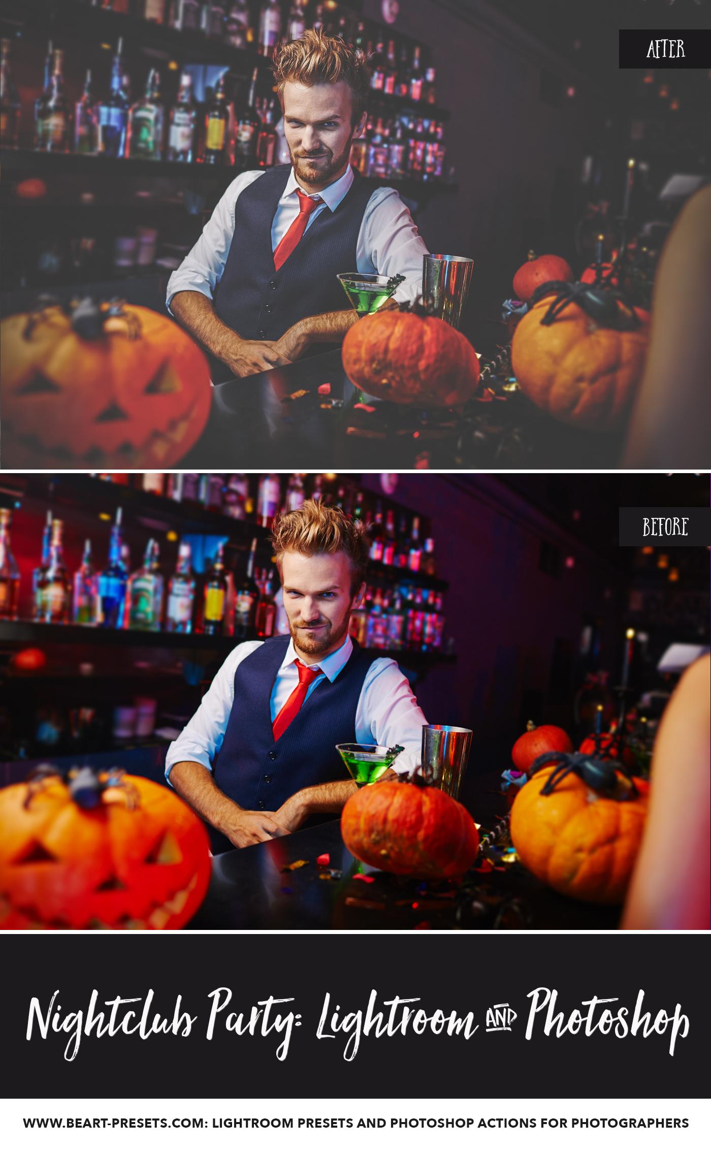 Pub and Nightclub Photography ACR presets