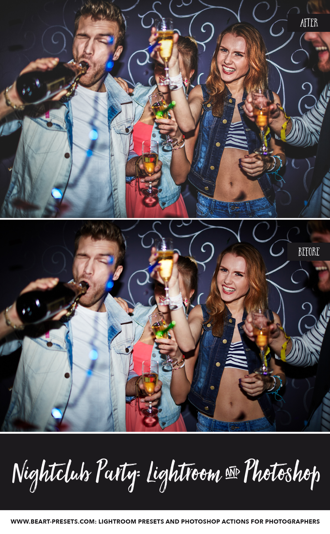 Lightroom presets for nightclub pictures