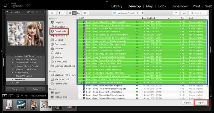 select+lightroo+presets+from+download+folder