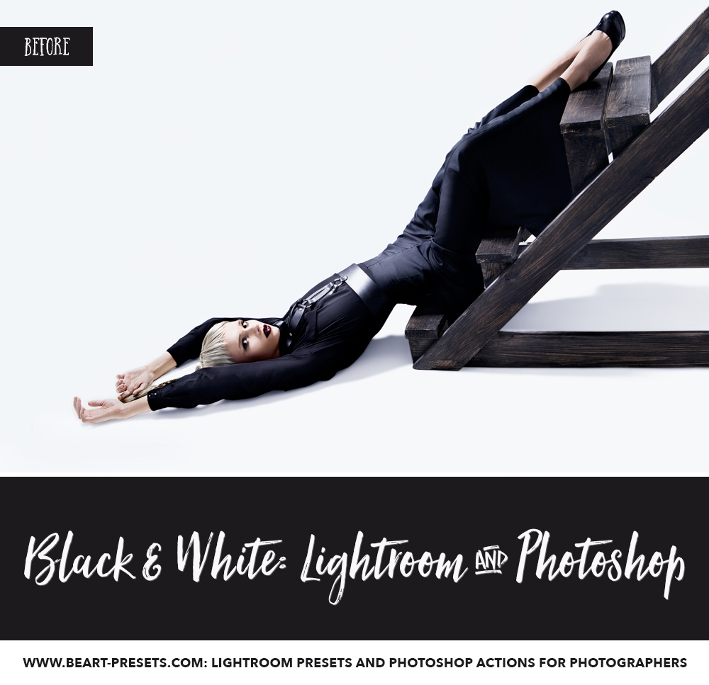 Mastering black and white photography with Lightroom presets