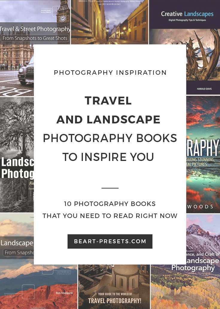 Top 10 Landscape and Travel Photography Books