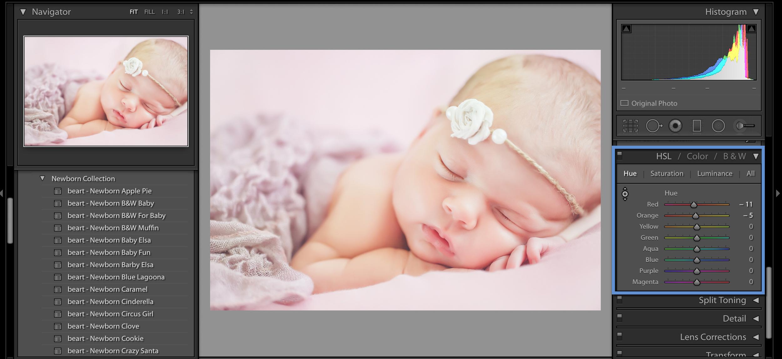 newborn images for photoshop an lightroom