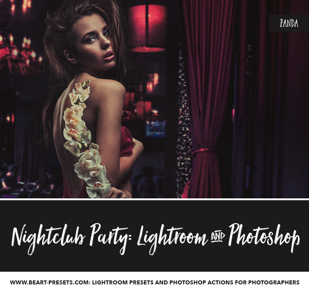 Nightclub Photography Photoshop action by #beartpresets