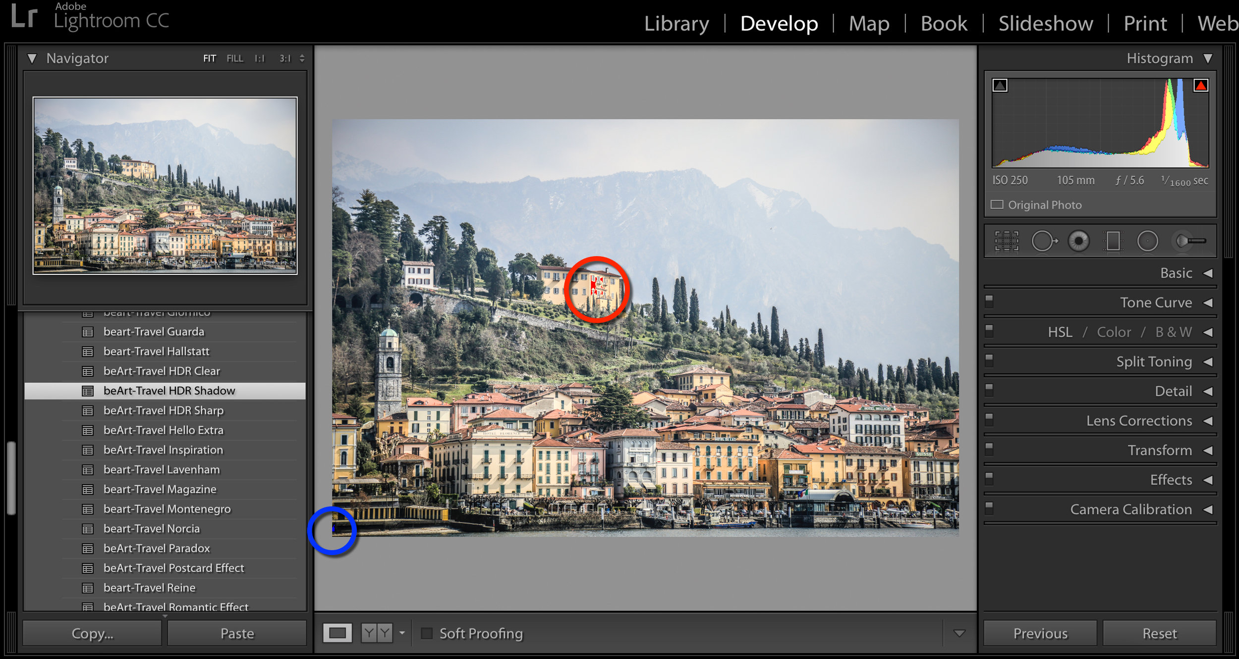 improve color with lightroom