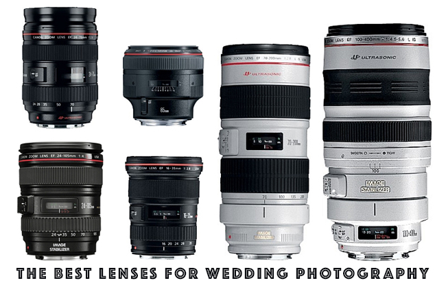 THE BEST LENSES FOR WEDDING