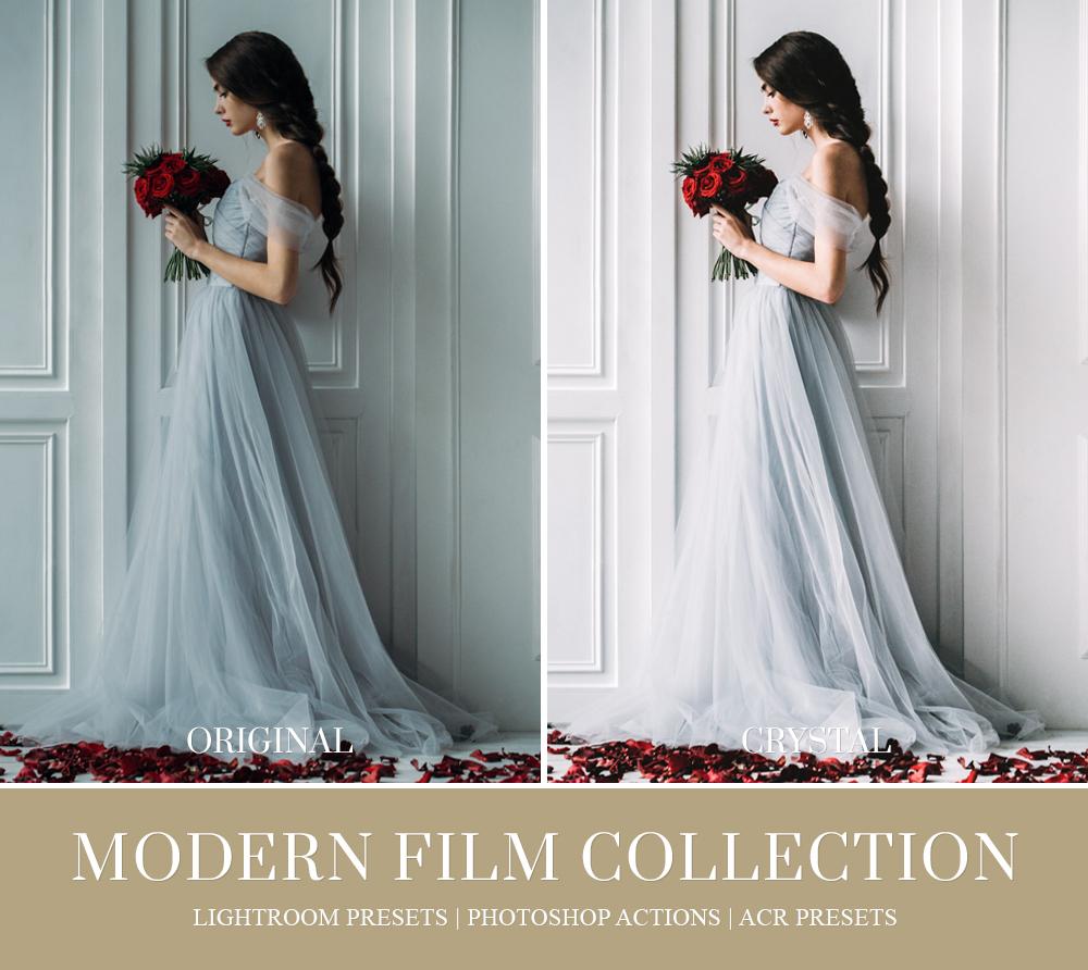 Film inspired lightroom preset for wedding photography