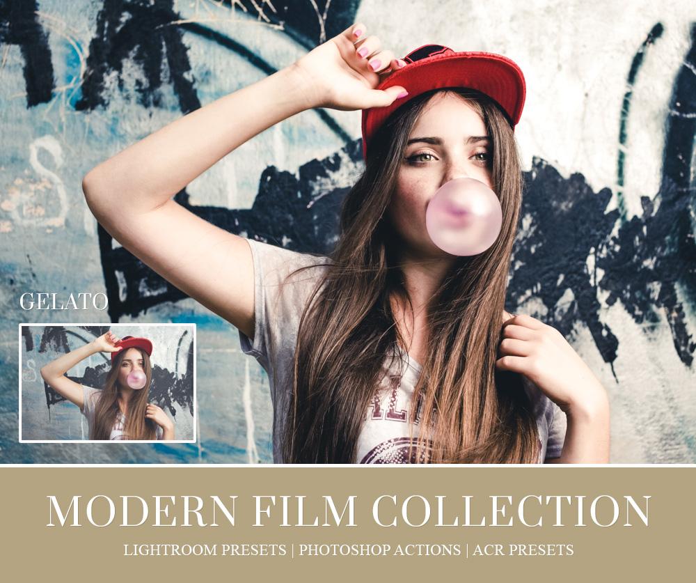 film emulation photoshop action