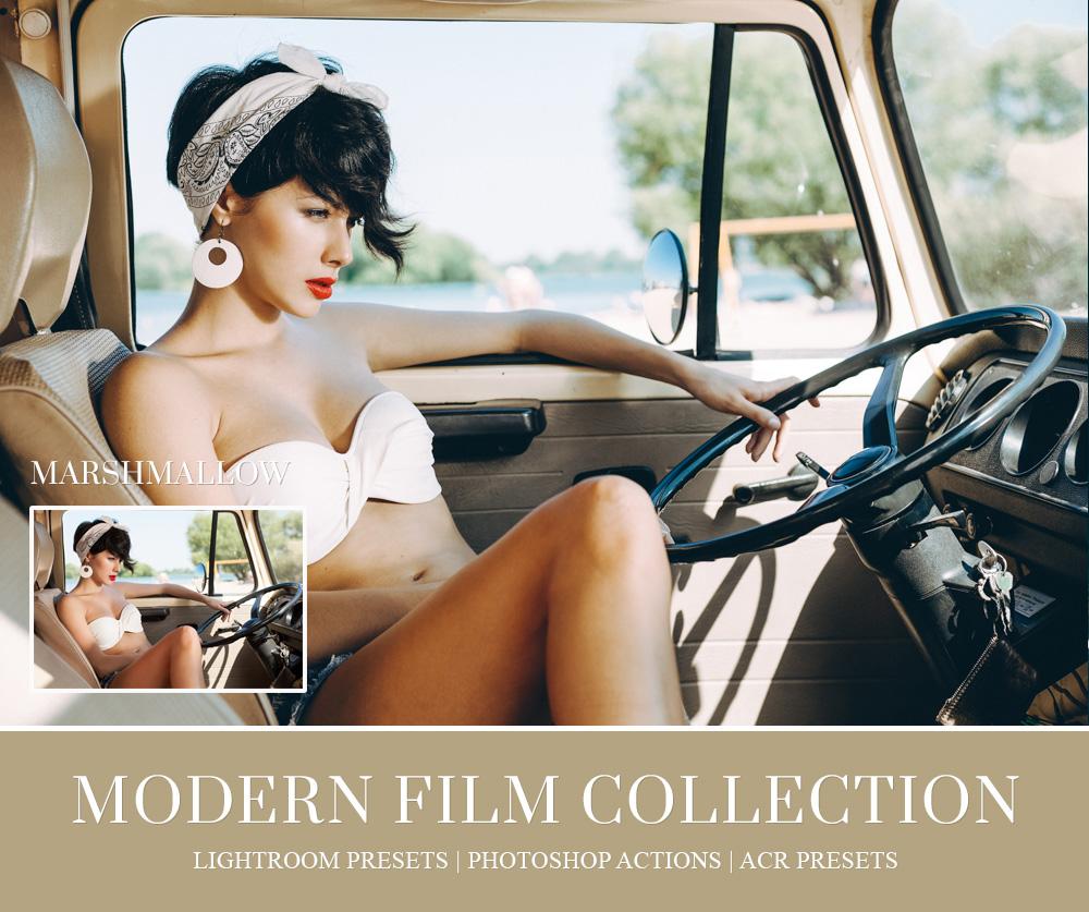 Film emulation lightroom preset