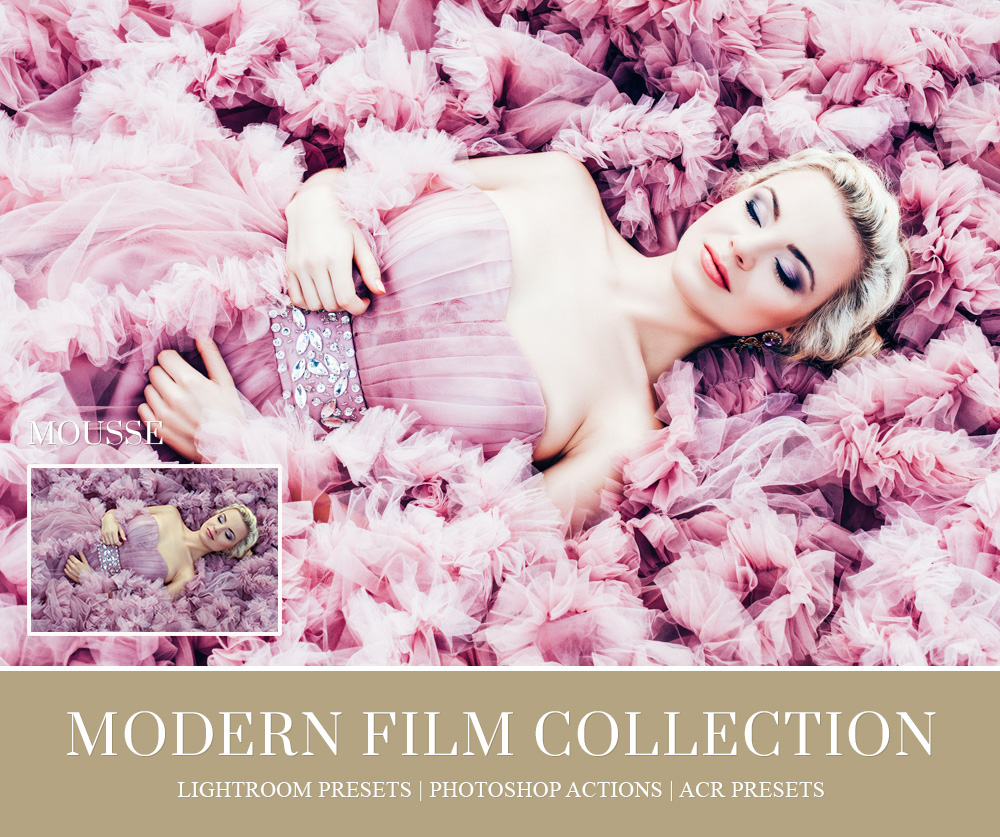 over-exposed film lightroom preset
