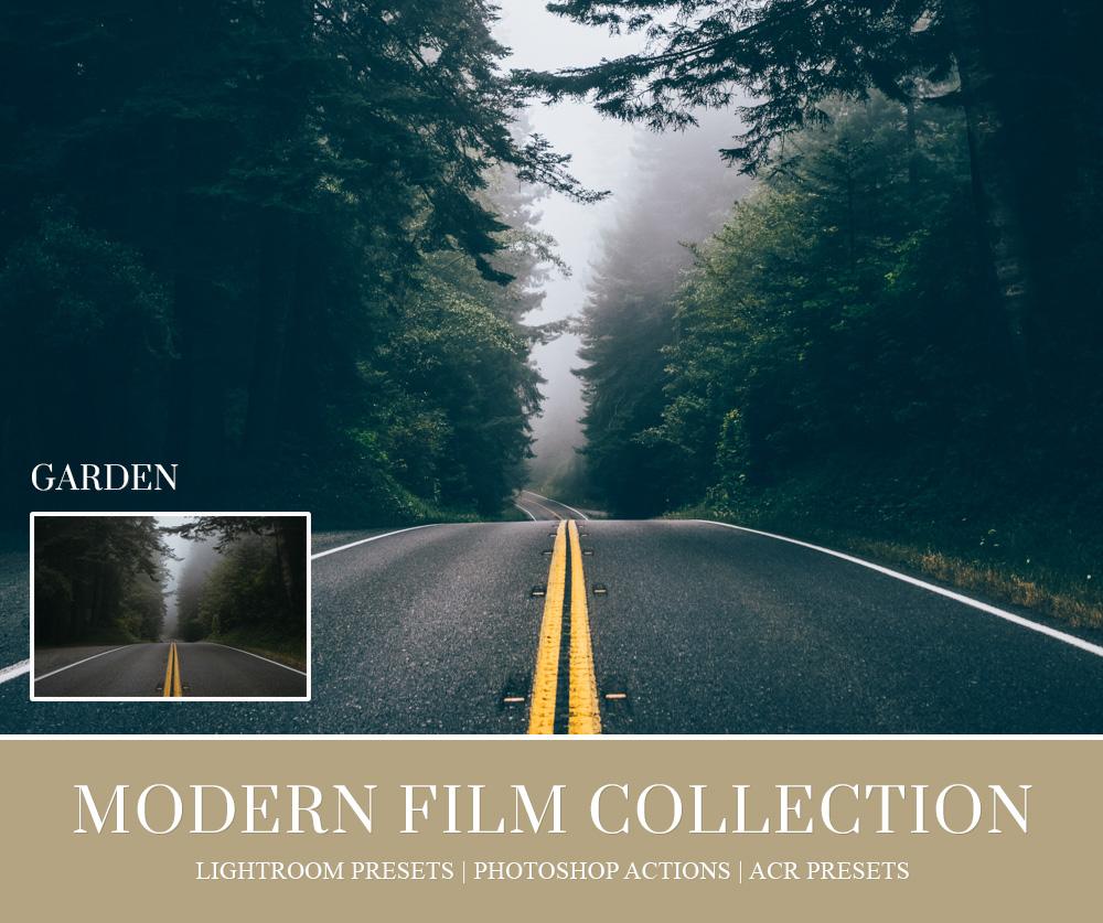 film lightroom preset for travel photography