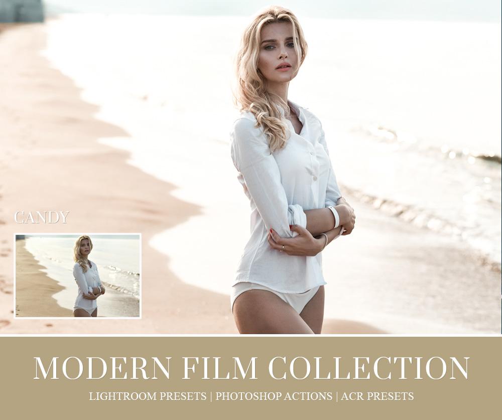 Caramel tone film lightroom preset