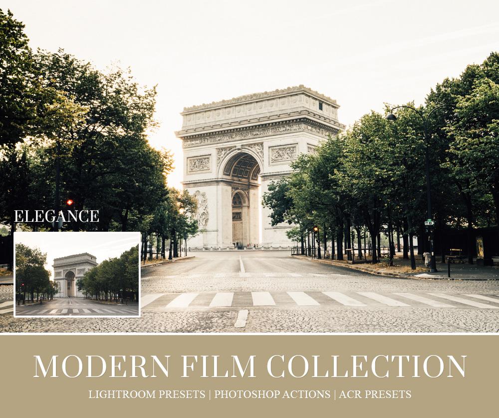 aesthetic film lightroom preset