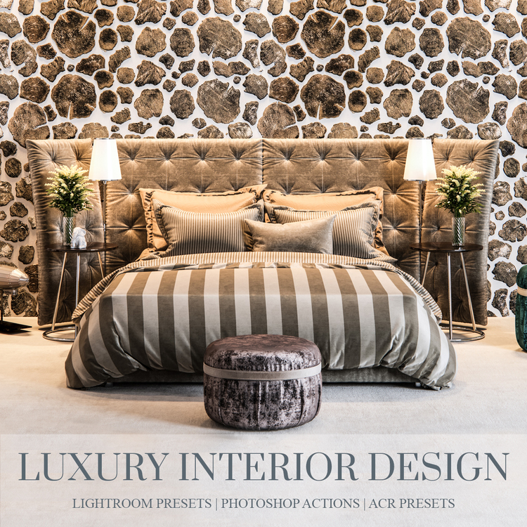 Interior design for lightroom and photoshop