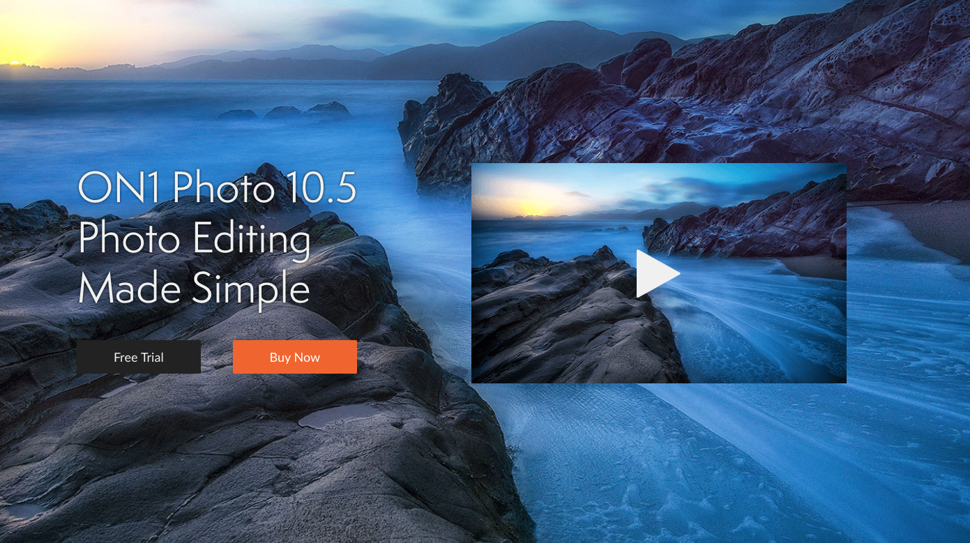 ON1 Photo 10.5 best software for photo editing