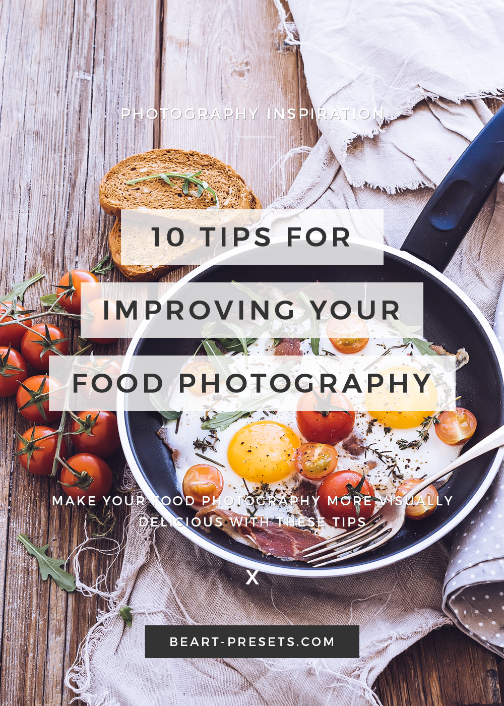 tips for improving food photography