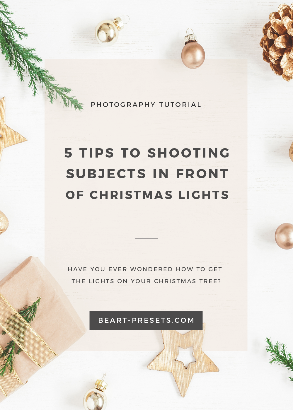 how to get the lights on your CHRISTMAS tree