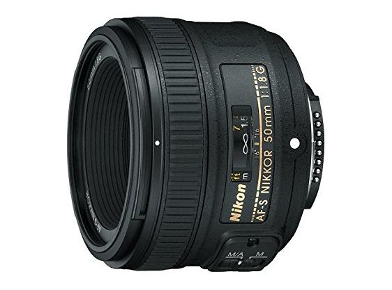 Nikon AF-S FX NIKKOR 50mm f-1.8G Lens with Auto Focus for Nikon DSLR Cameras