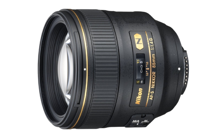 Nikon AF-S FX NIKKOR 85mm f-1.4G Lens with Auto Focus for Nikon DSLR Cameras.png