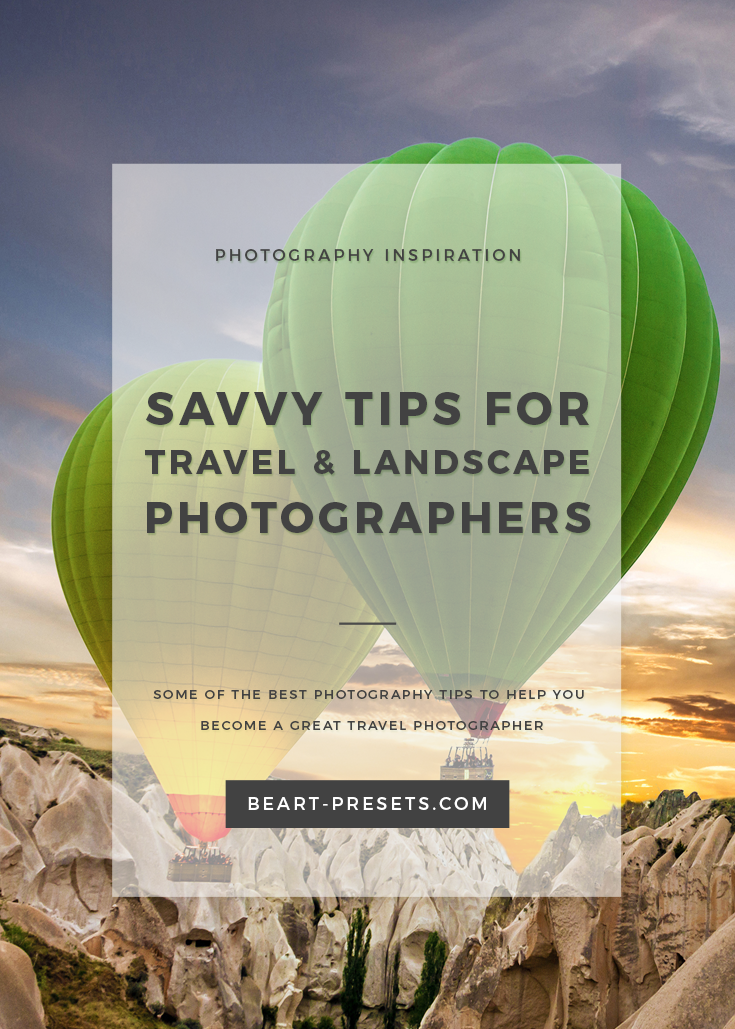Tips for Travel Photographers