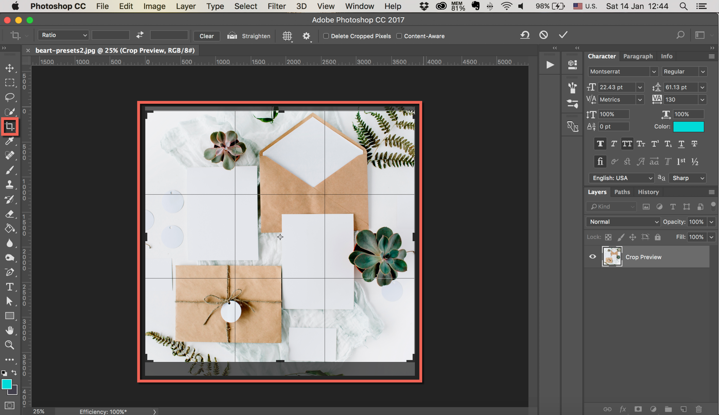 cut your image with photoshop