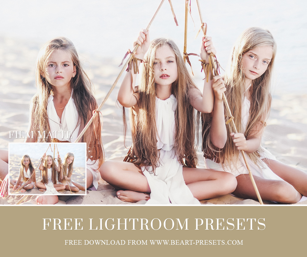 free lightroom presets film look