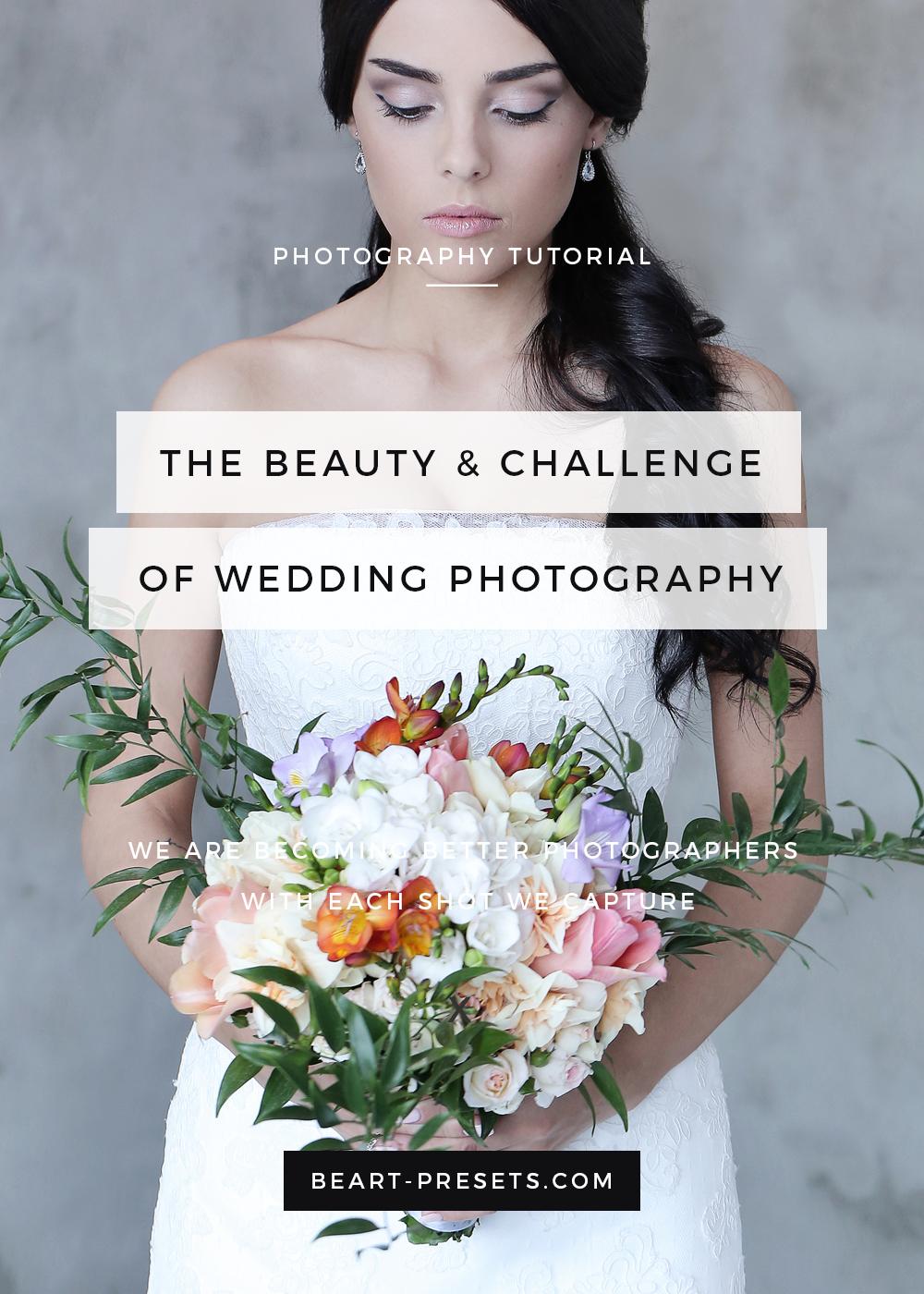 Challenge of Wedding Photography