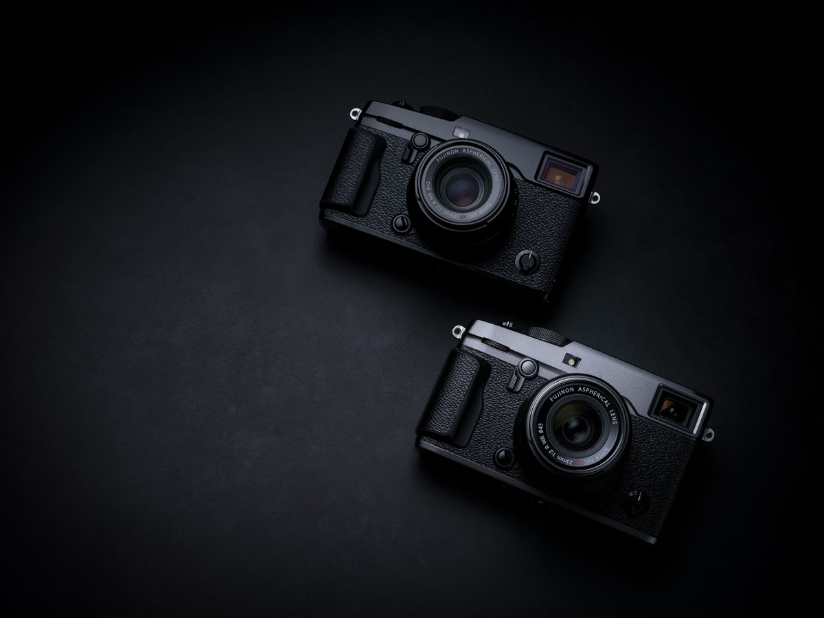 graphite version of Fujifilm xpro2