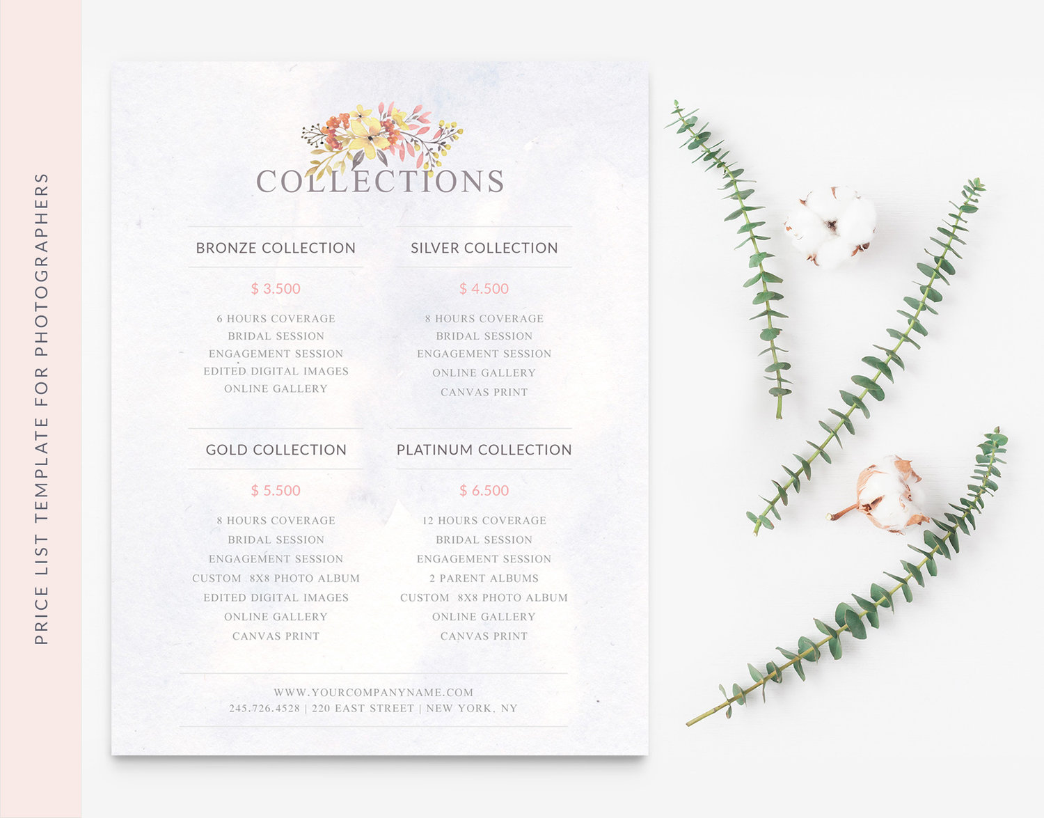 price list template by beart-presets