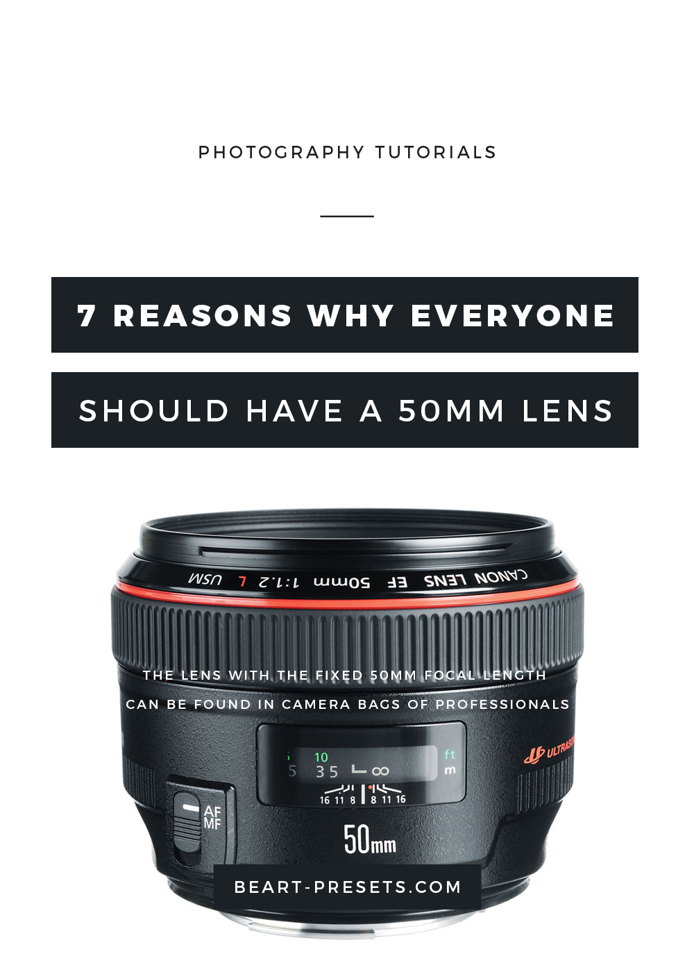 Top Reasons To Buy a 50mm Lens (The Nifty Fifty)