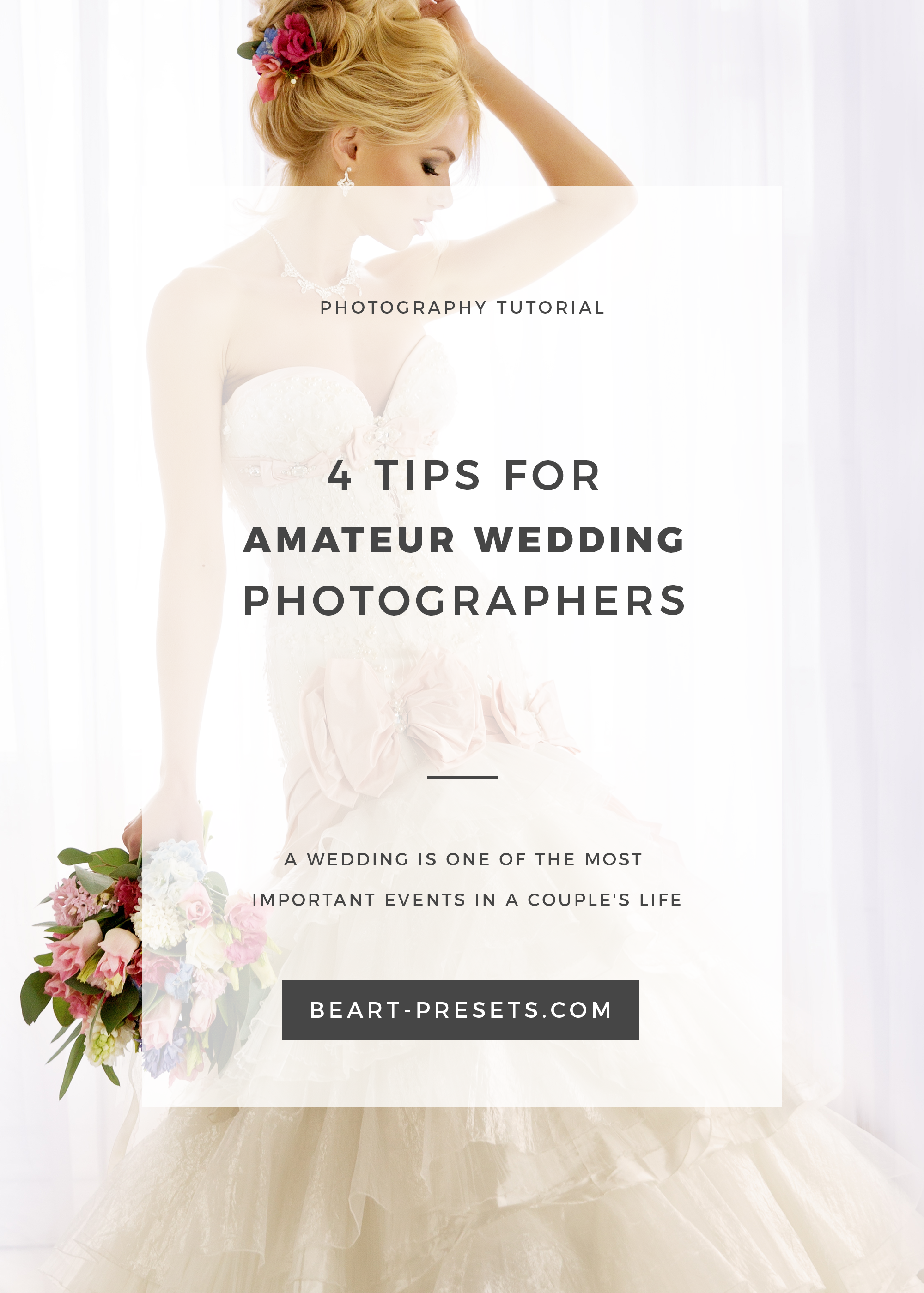 GREAT TIPS FOR WEDDING PHOTOGRAPHERS