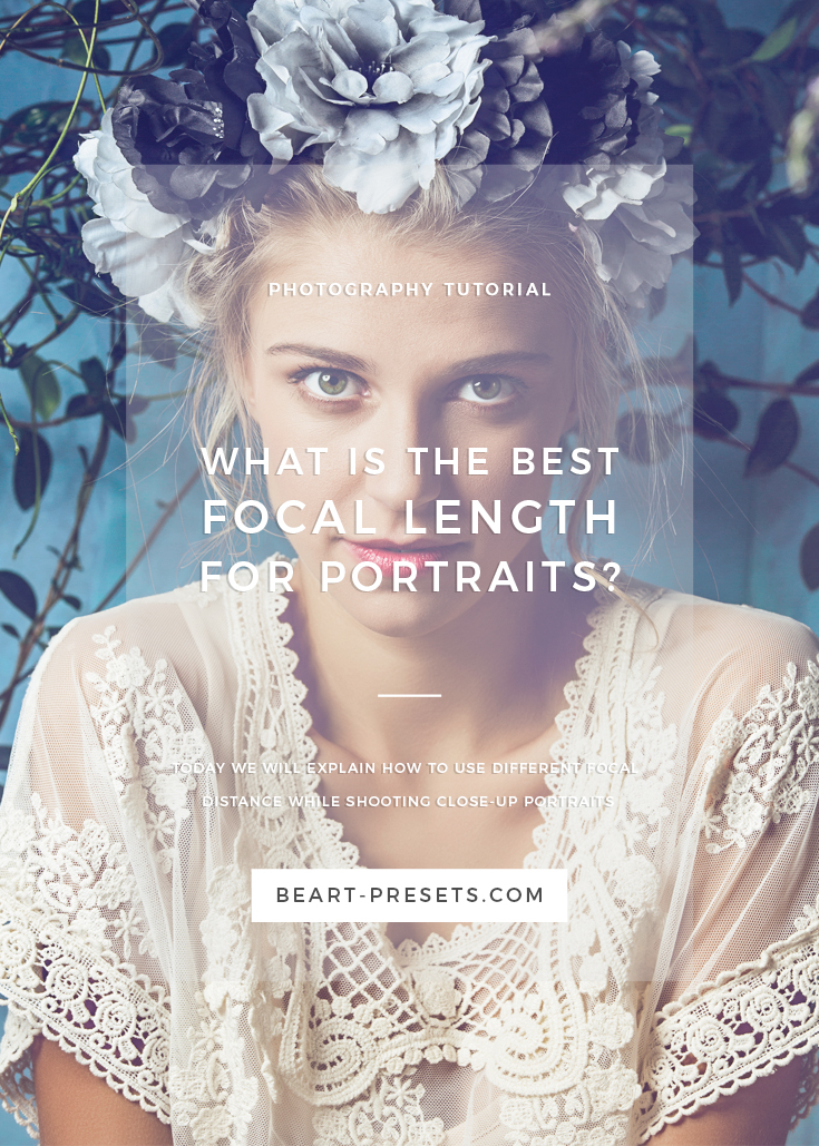 the best focal distance while shooting portrait photos