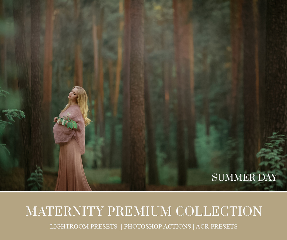 Maternity Lifestyle Photo retouch in Lightroom