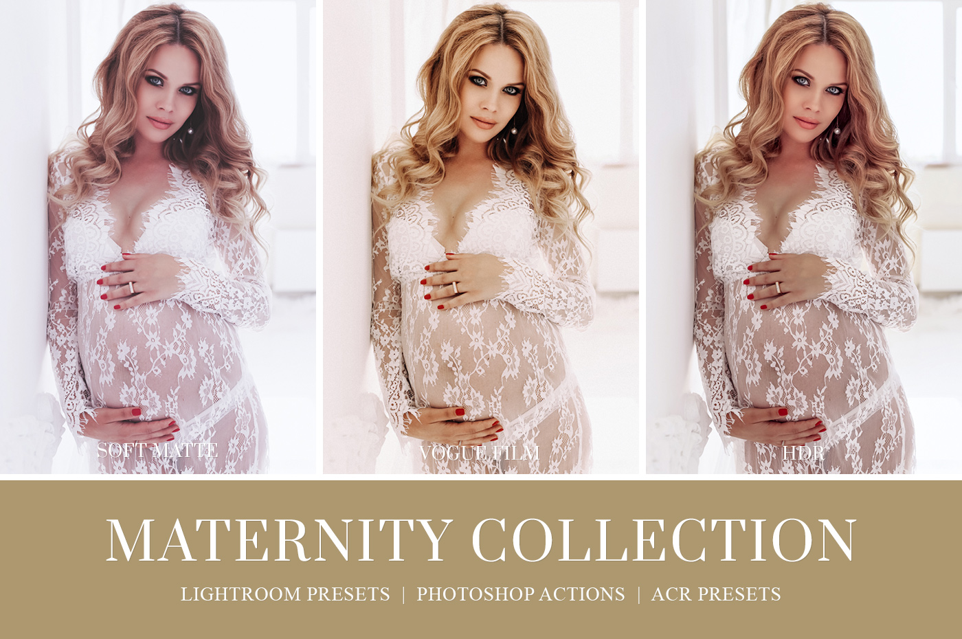 Indoor maternity photography editing lightroom presets