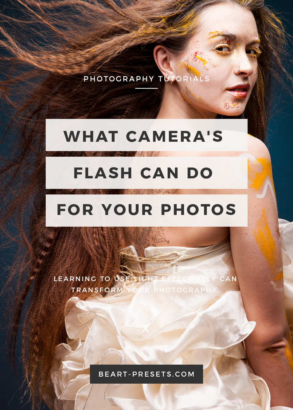 DSLR camera's flash