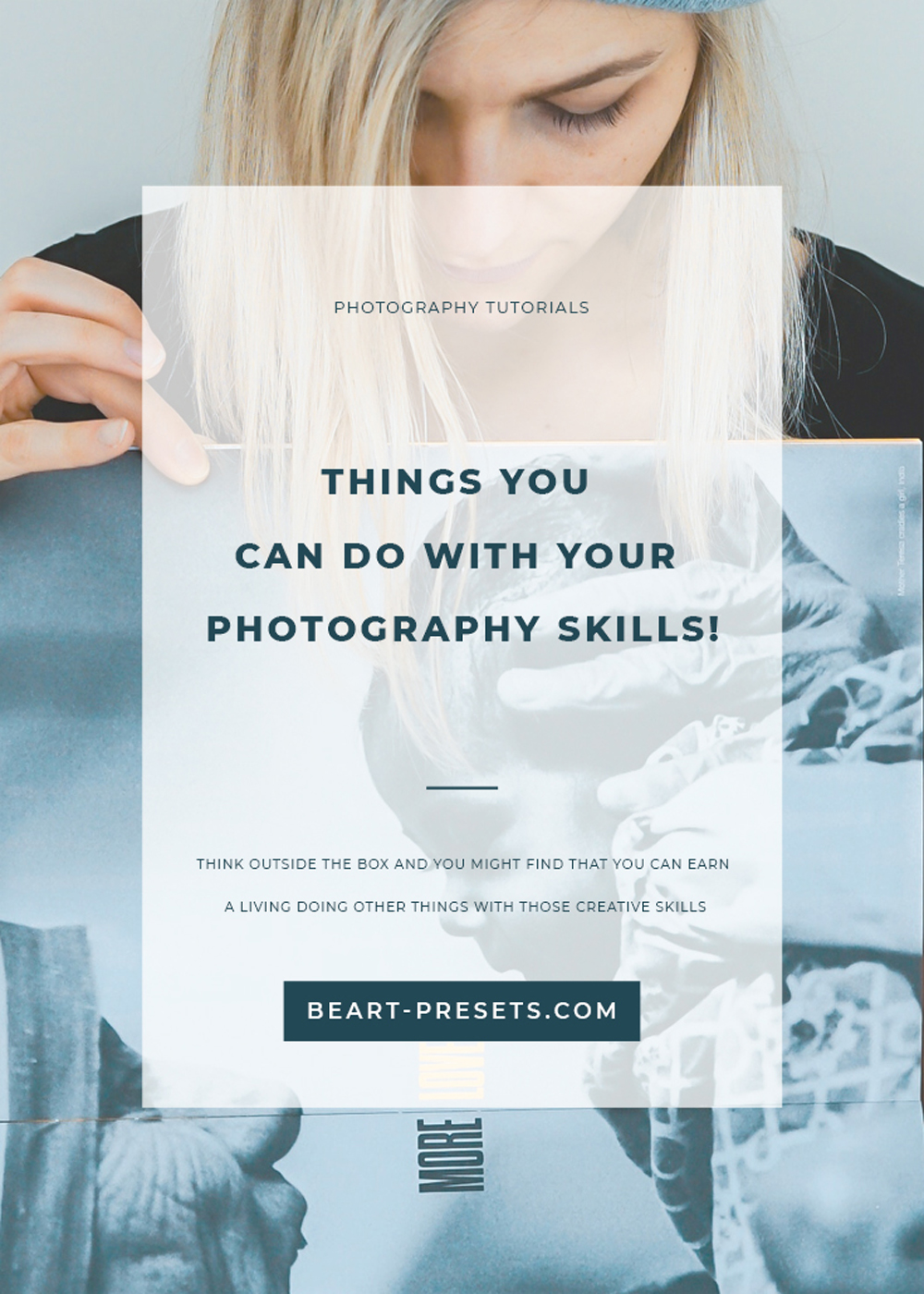 YOUR PHOTOGRAPHY SKILLS