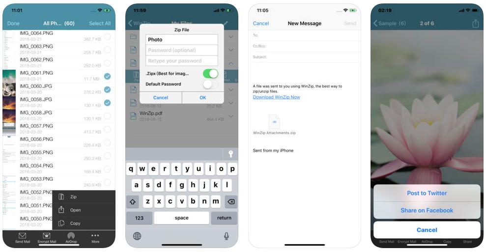 winzip for iphone