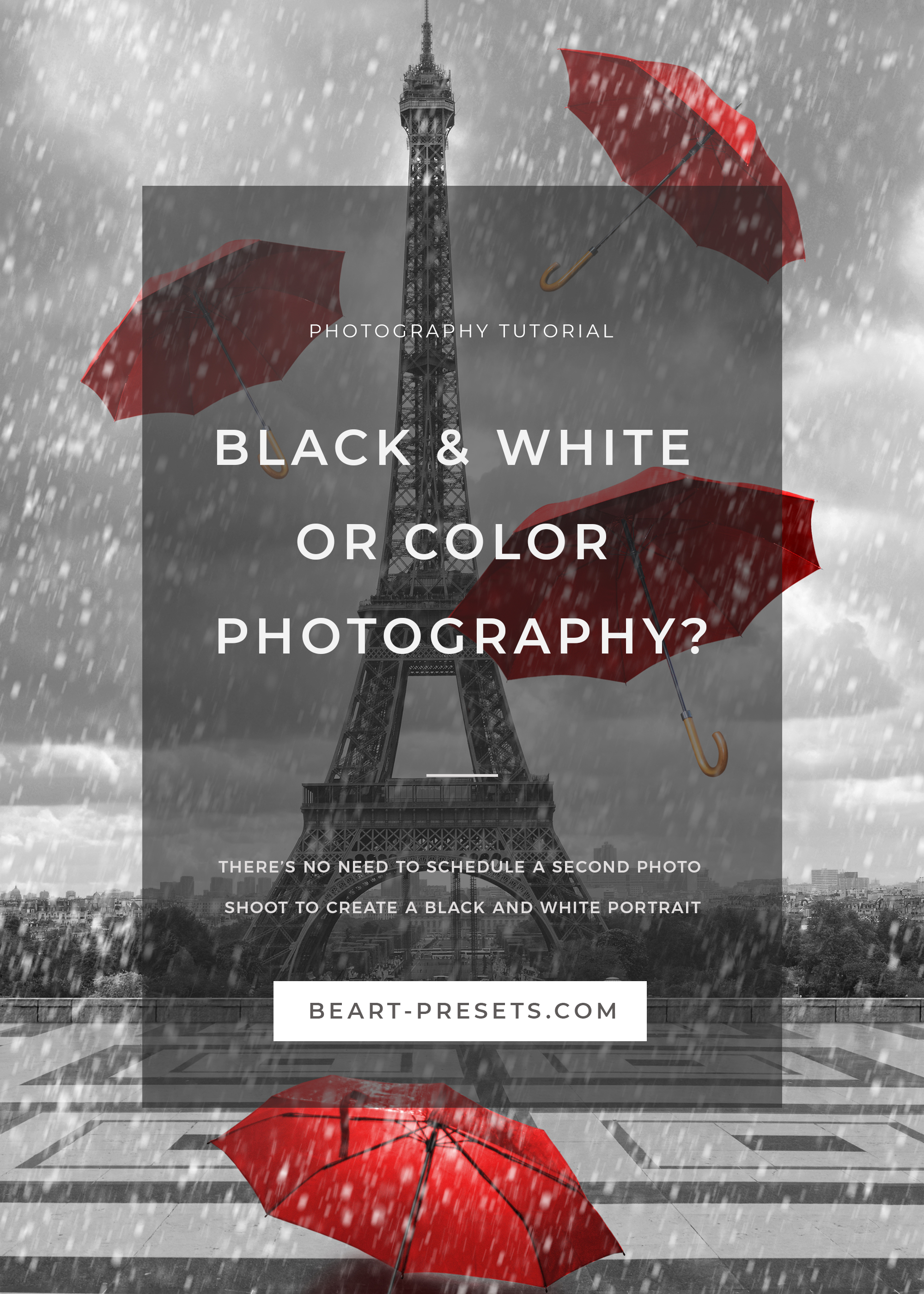 black and white or color photography