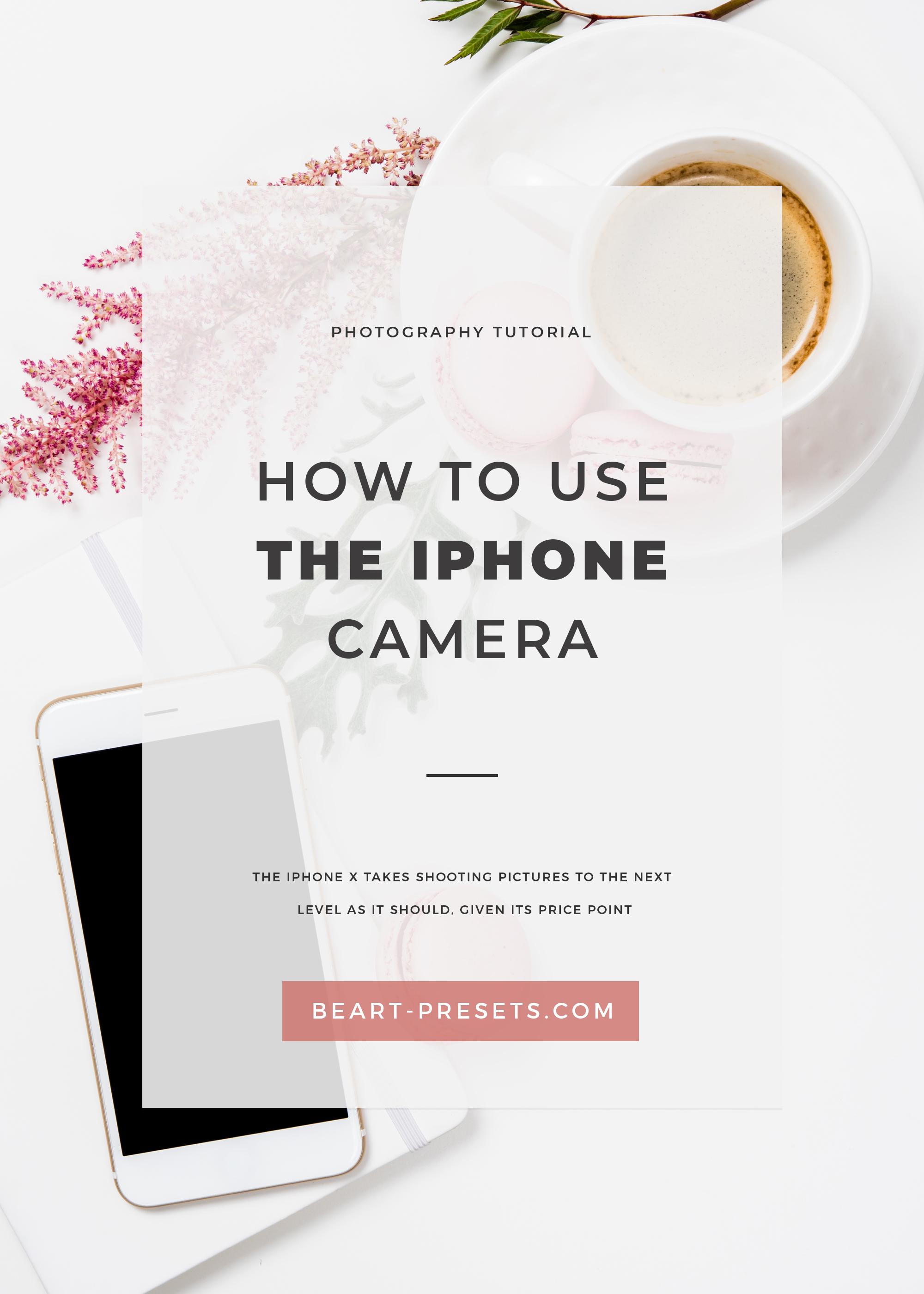 use iphone camera