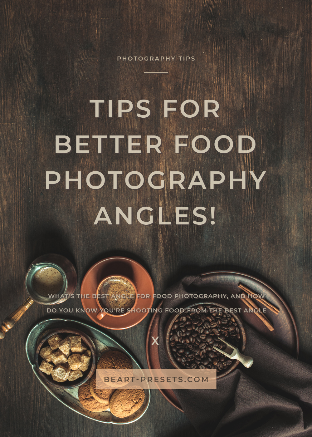 tips for better food photos