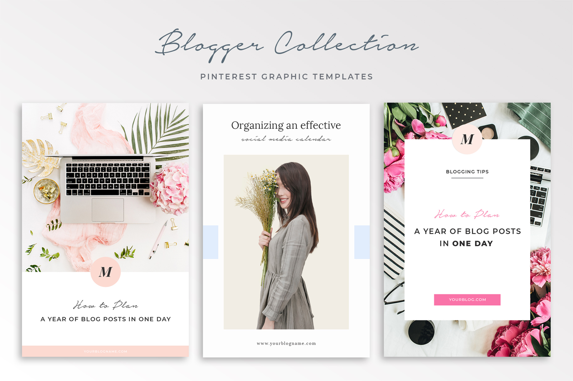 Pinterest Graphic Templates for Bloggers