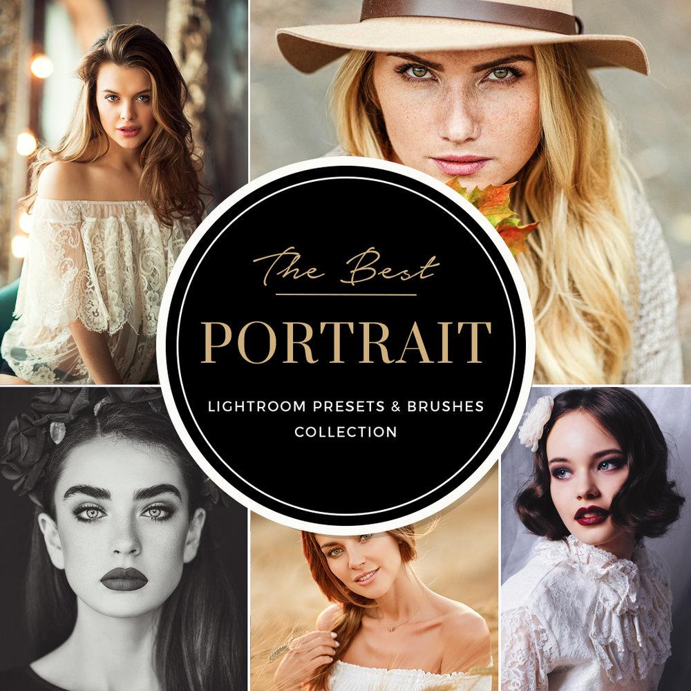 Portrait+Lightroom+Presets+and+Brushes