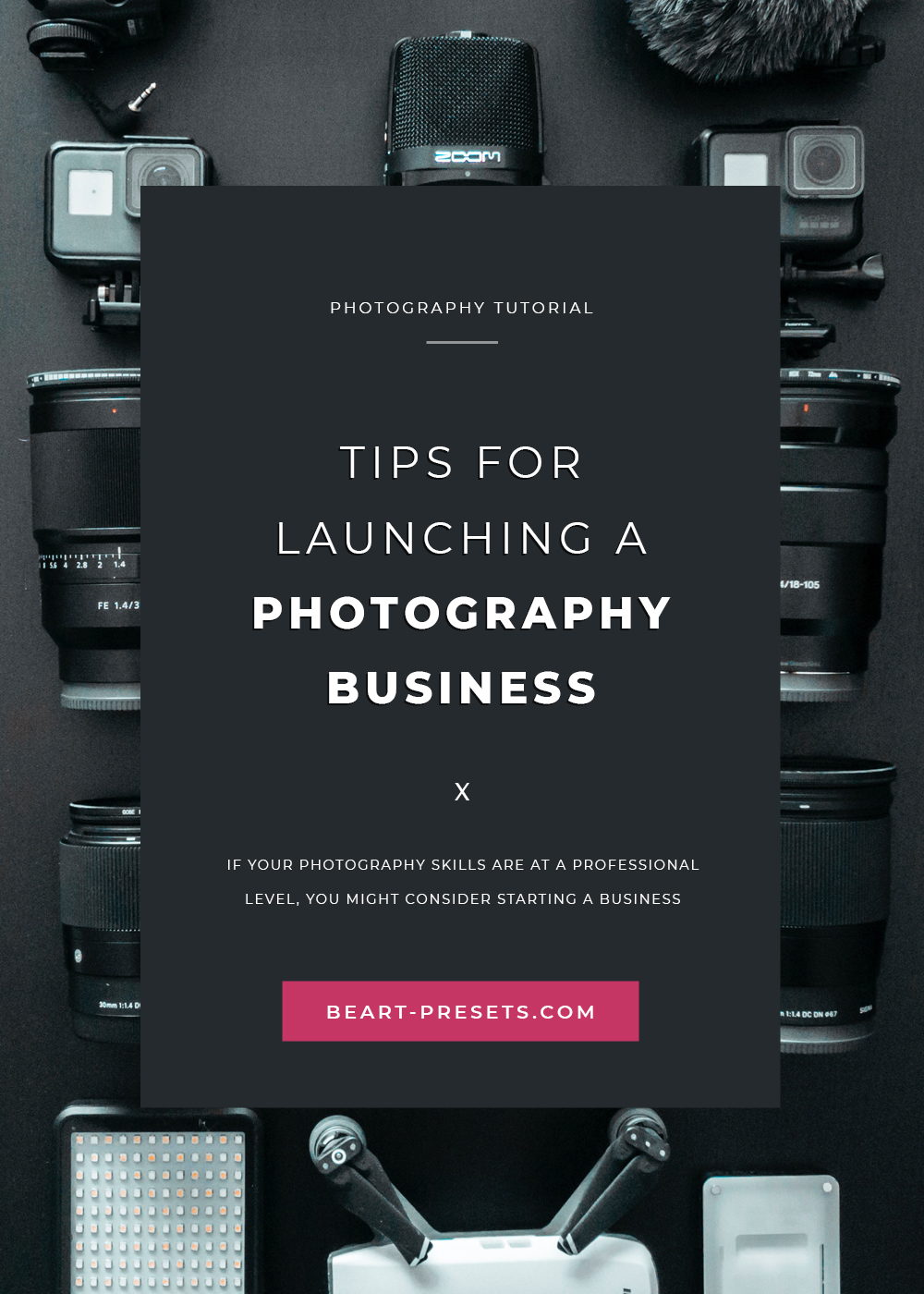 launching photography business