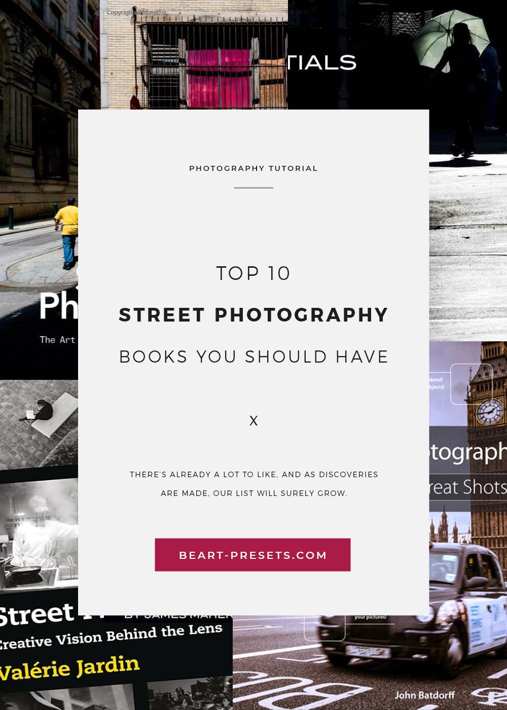 Street photography books