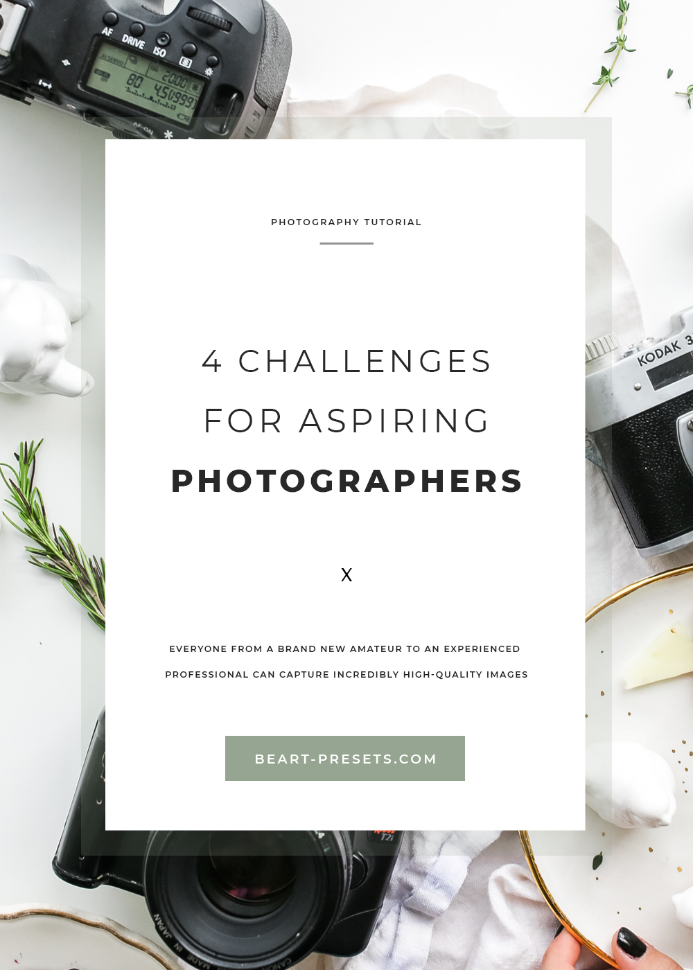 4 challenging for aspiring photographers