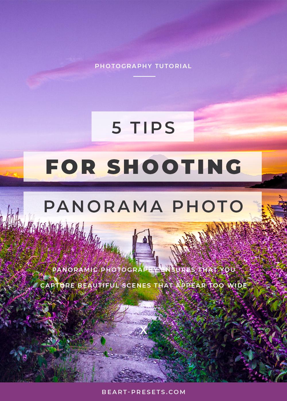 shooting panorama photos