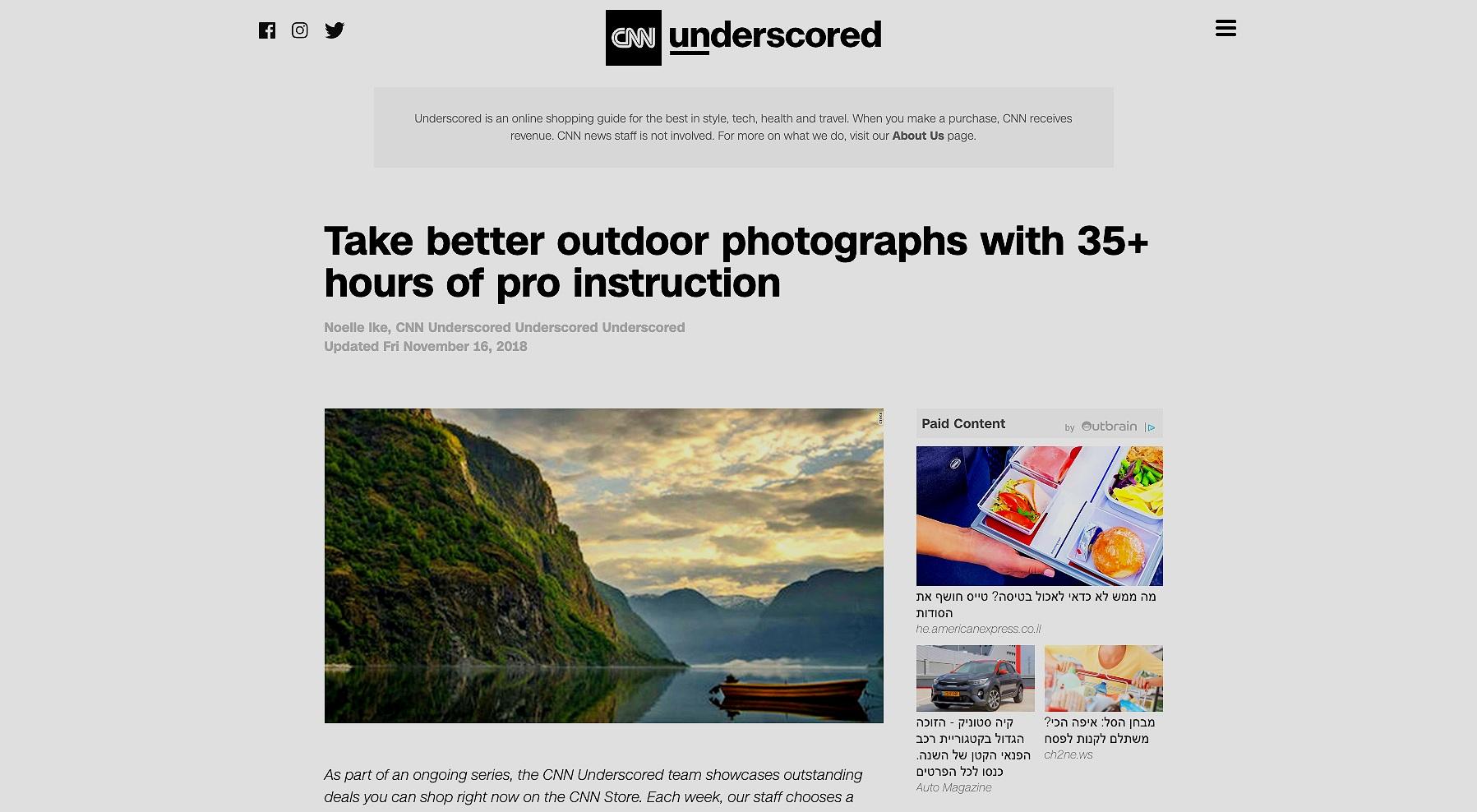 cnn+photography+courses